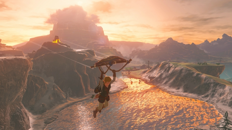The Legend of Zelda Breath of the Wild actualizacion 1.1.1 llegó para todos los usuarios.
