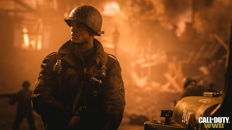 Call of Duty WWII Trailer lanzamiento.
