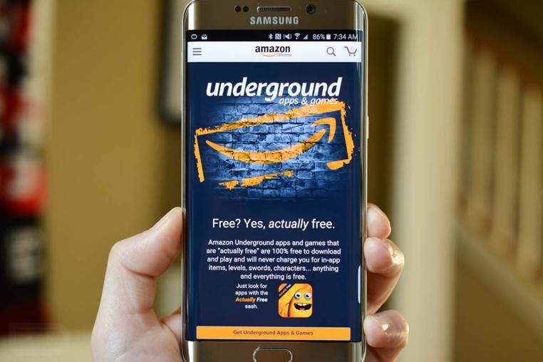 La tienda de app Underground de Amazon se despide.