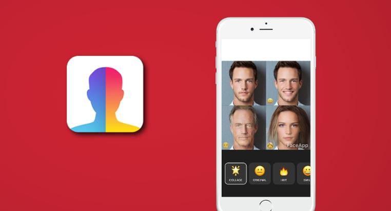 La aplicación Faceapp para Android cambia el rostro.