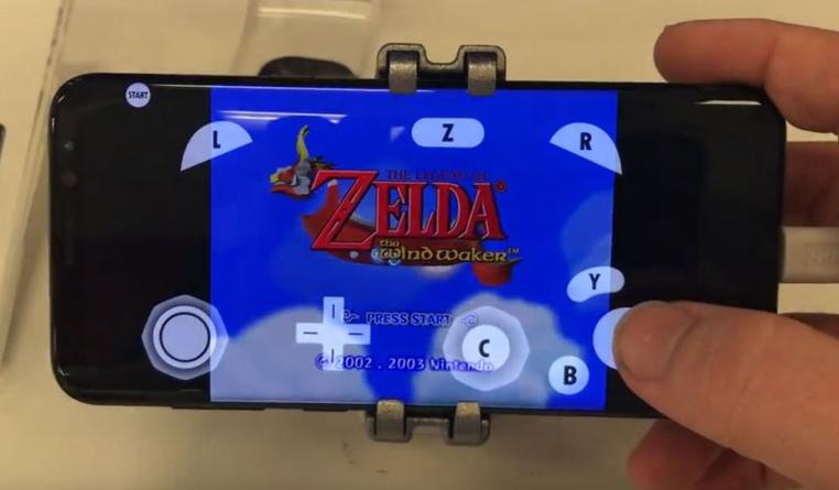 Los juegos de Nintendo GameCube se pueden emular en un nuevo samsung.