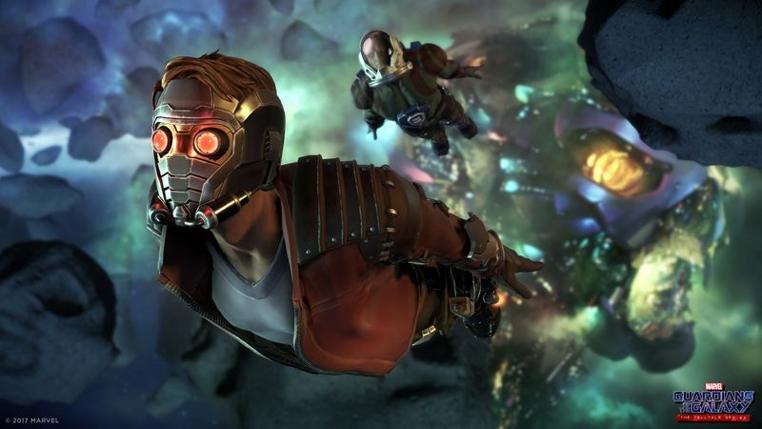 Revelan el primer trailer de juego guardianes de la galaxia The Telltale Series.