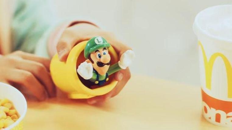 McDonald's Happy Meals ofrece juguetes de Super Mario