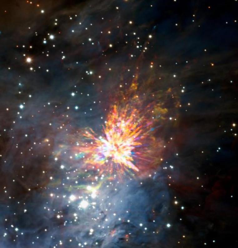 nacimiento de estrellas