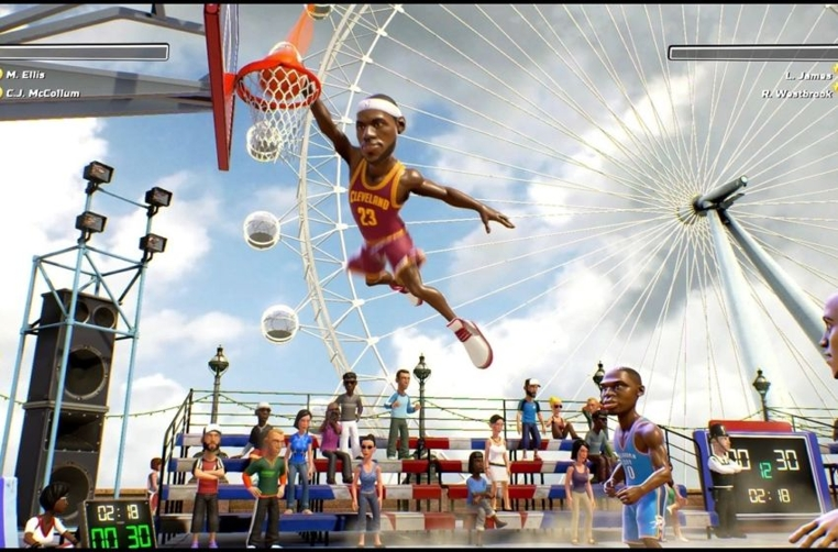 NBA Playgrounds para Nintendo Switch saldrá en mayo.