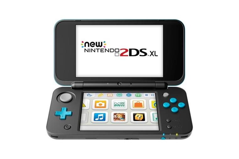 La consola Nintendo 2DS XL llega en julio.