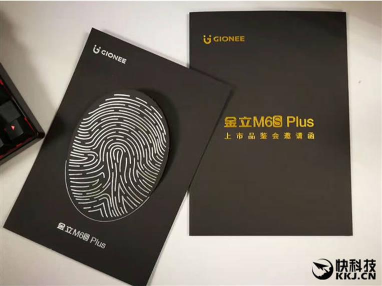 nuevo smartphone M6S plus con huellas dactilares