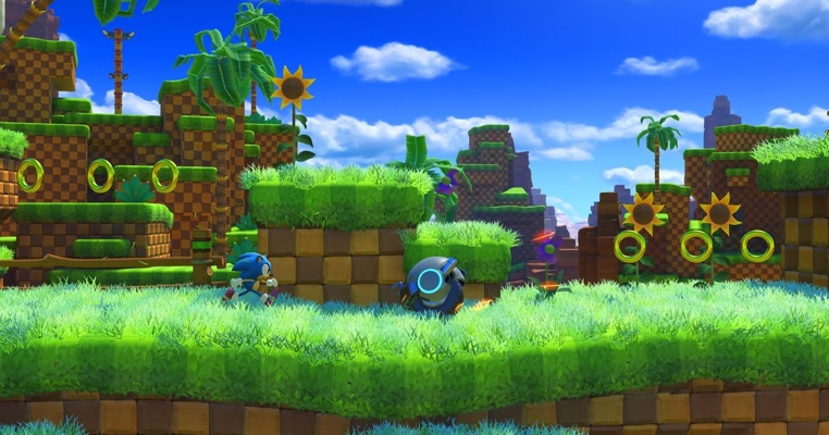 El vistazo del nuevo juego Sonic Forces está genial.