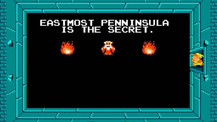 El juego The Legend of Zelda 1987 tenía un error.