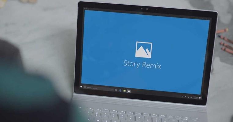 El programa Story Remix de Windows 10 será probado antes del lanzamiento oficial.