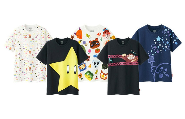 Las camisetas de Nintendo que ofrece la tienda japonesa Uniqlo son impresionantes.