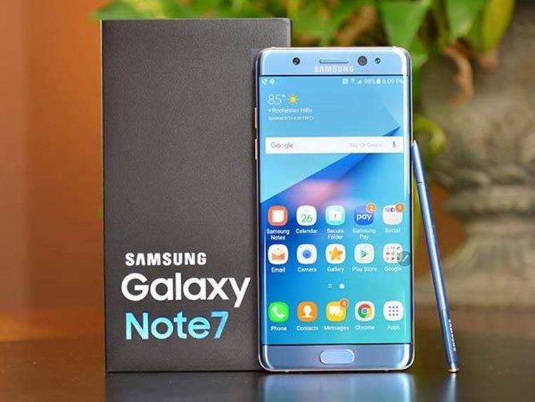 El Galaxy Note 7 de Samsung