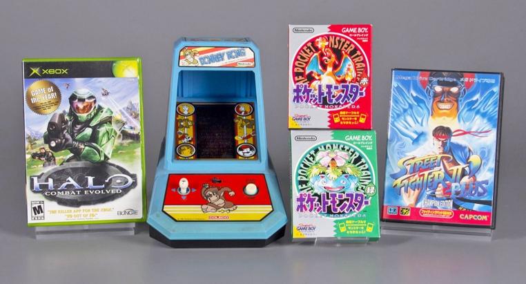 Cuatro juegos llegaron al salon de la fama de los videojuegos este año.