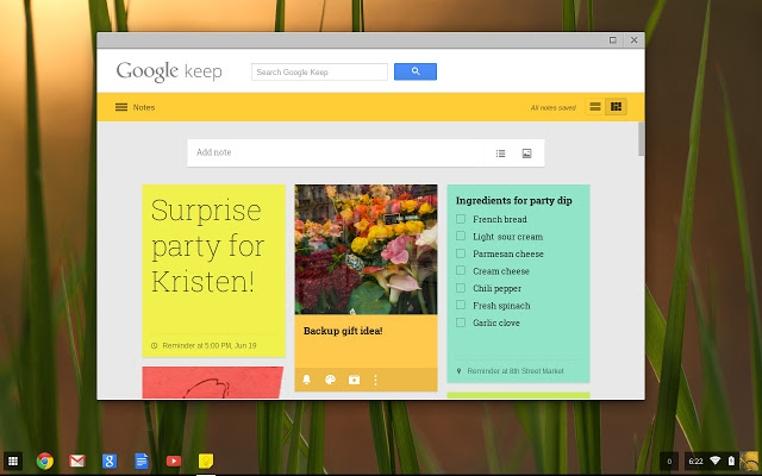 Las aplicaciones Calentar, Photo y Keep de Google ofrecen novedades para la familia.