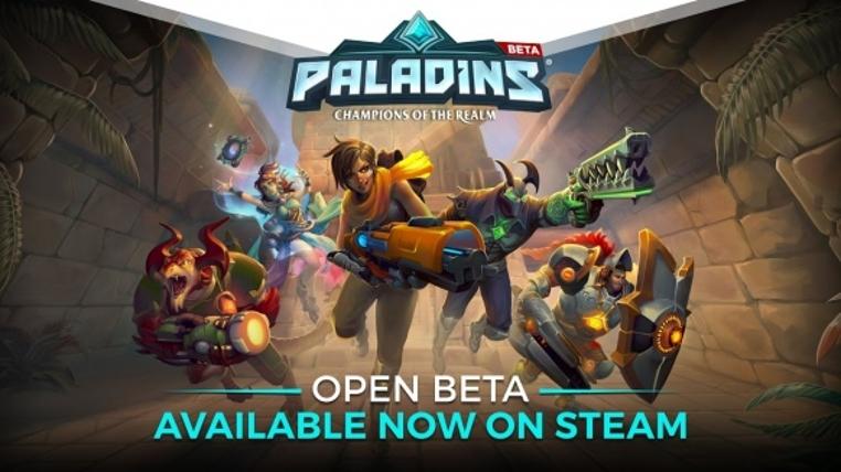 El juego Paladins para PC estrena versión beta.