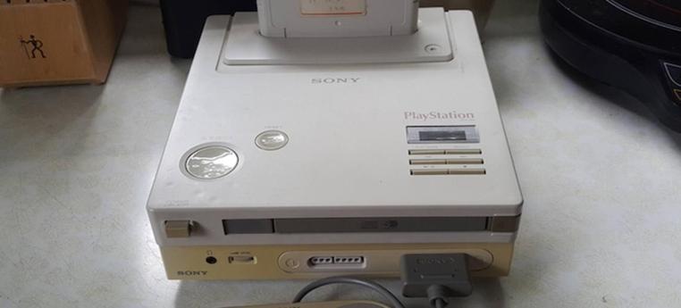 El prototipo Playstation de Nintendo ya está operativo.