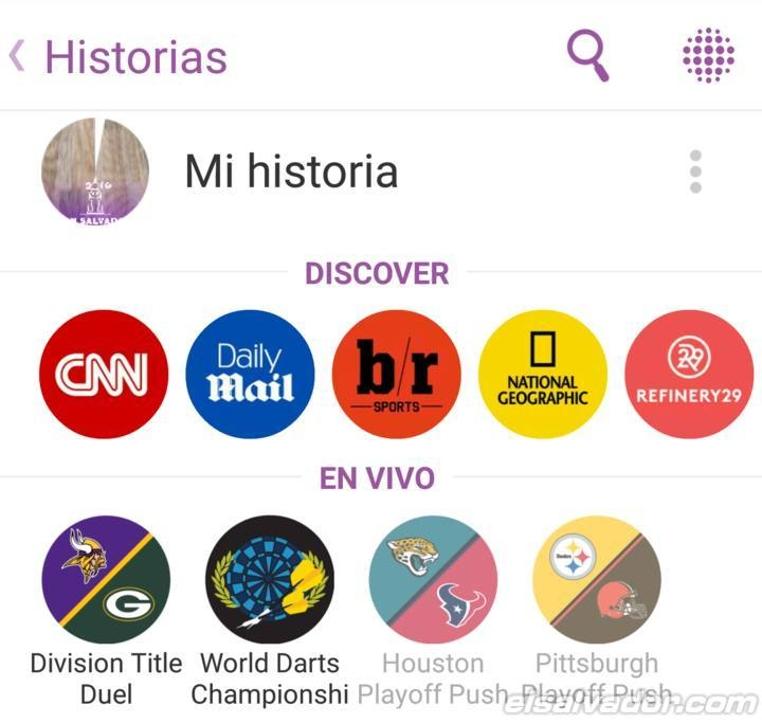 Las nuevas historias de Snapchat personalizadas son geniales para compartir en grupo.