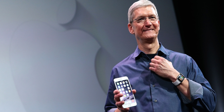 Tim Cook, Ceo de Apple, espera desarrollar un Apple Watch que detecte la glucosa.