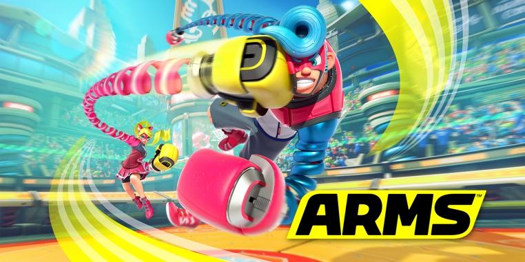 El nuevo juego Arms para Nintendo Switch tiene combates impresionantes.