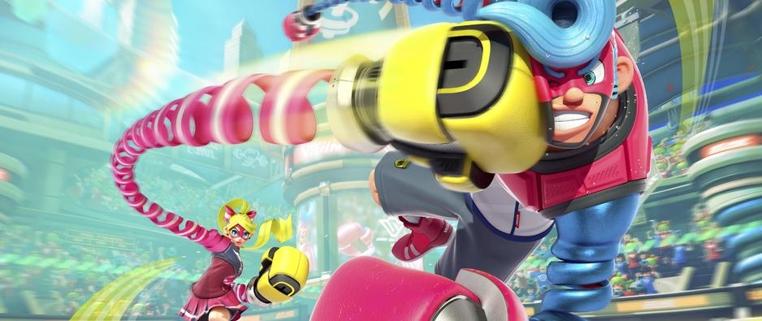 Los personajes de Arms se pueden elegir de acuerdo a sus fortalezas.