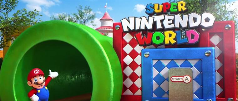 El esperado parque Super Nintendo World ya tiene su primer trailer con detalles.