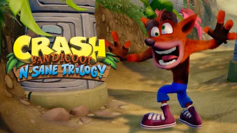 Crash Bandicoot N. Sane Trilogy para Ps4