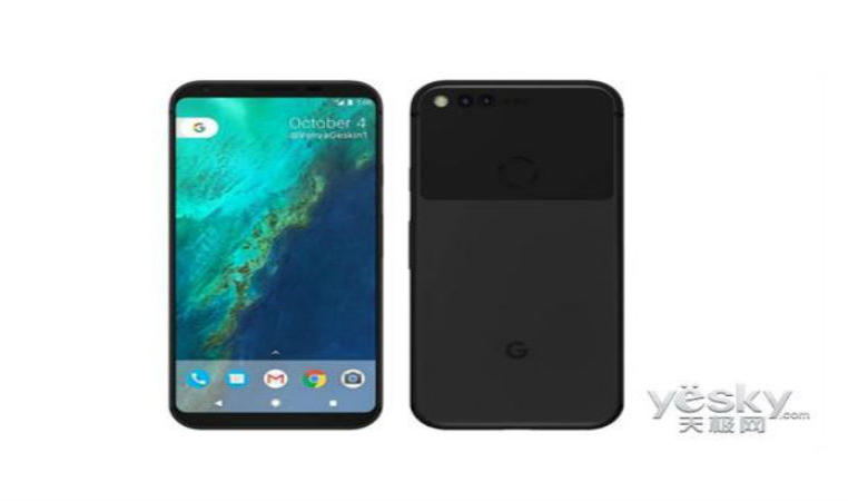 detalles del google pixel 2