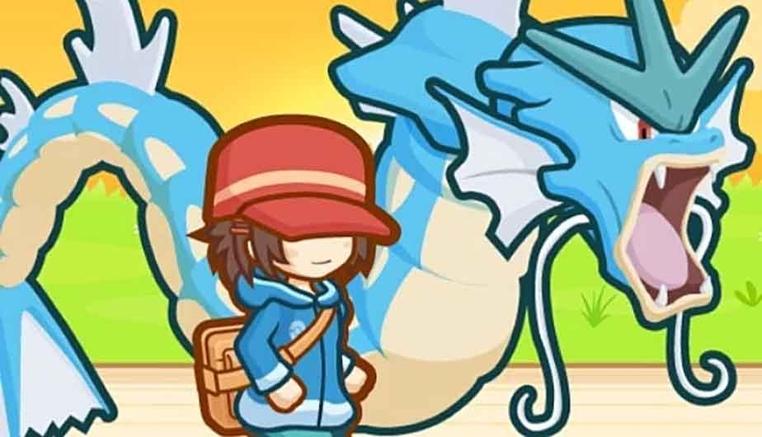 El poderoso Gyarados es inútil en el juego juego Magikarp Jump.