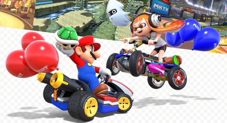 actualizacion de Mario Kart 8 Deluxe