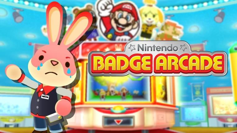 Desaparecerá Nintendo Badge Arcade.