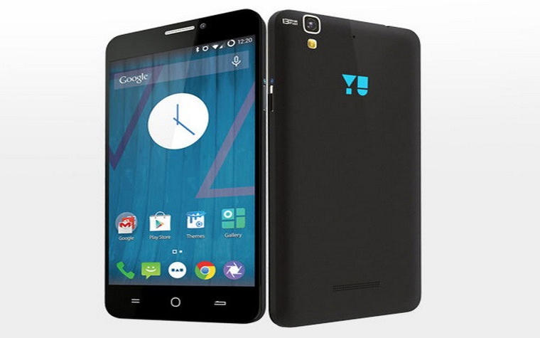smartphone yureka negro