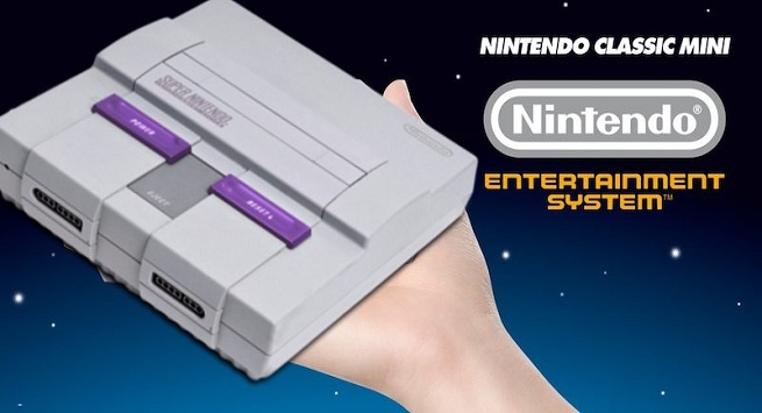 mini Super NES Classic