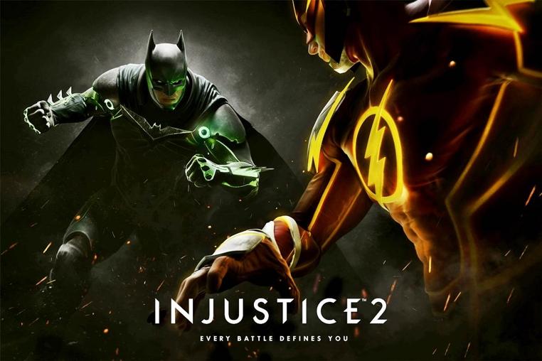actualización del juego Injustice 2