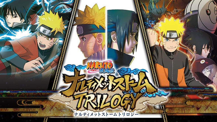 Naruto Shippuden Ultimate Ninja Storm Legacy y Trilogy