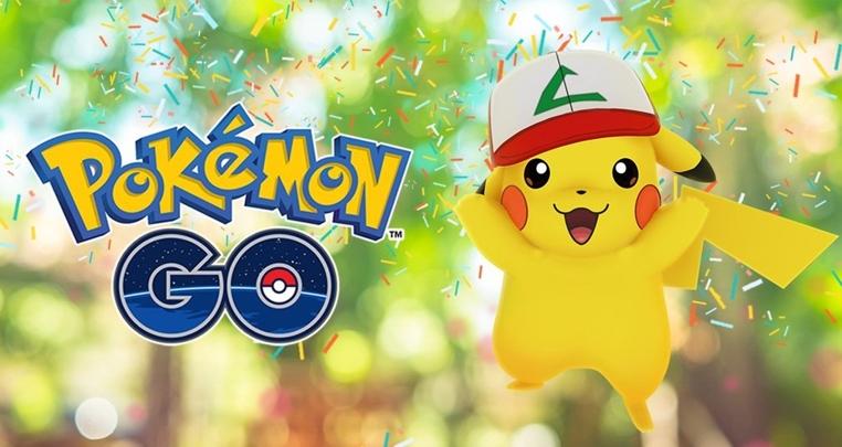 aniversario de Pokemon Go