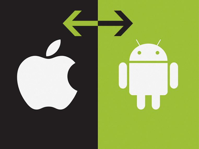 transferir datos de Android a iOS