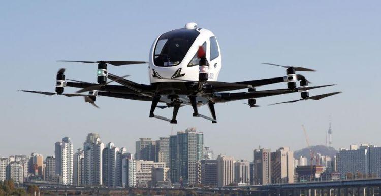 Los Taxis voladores ya son una realidad